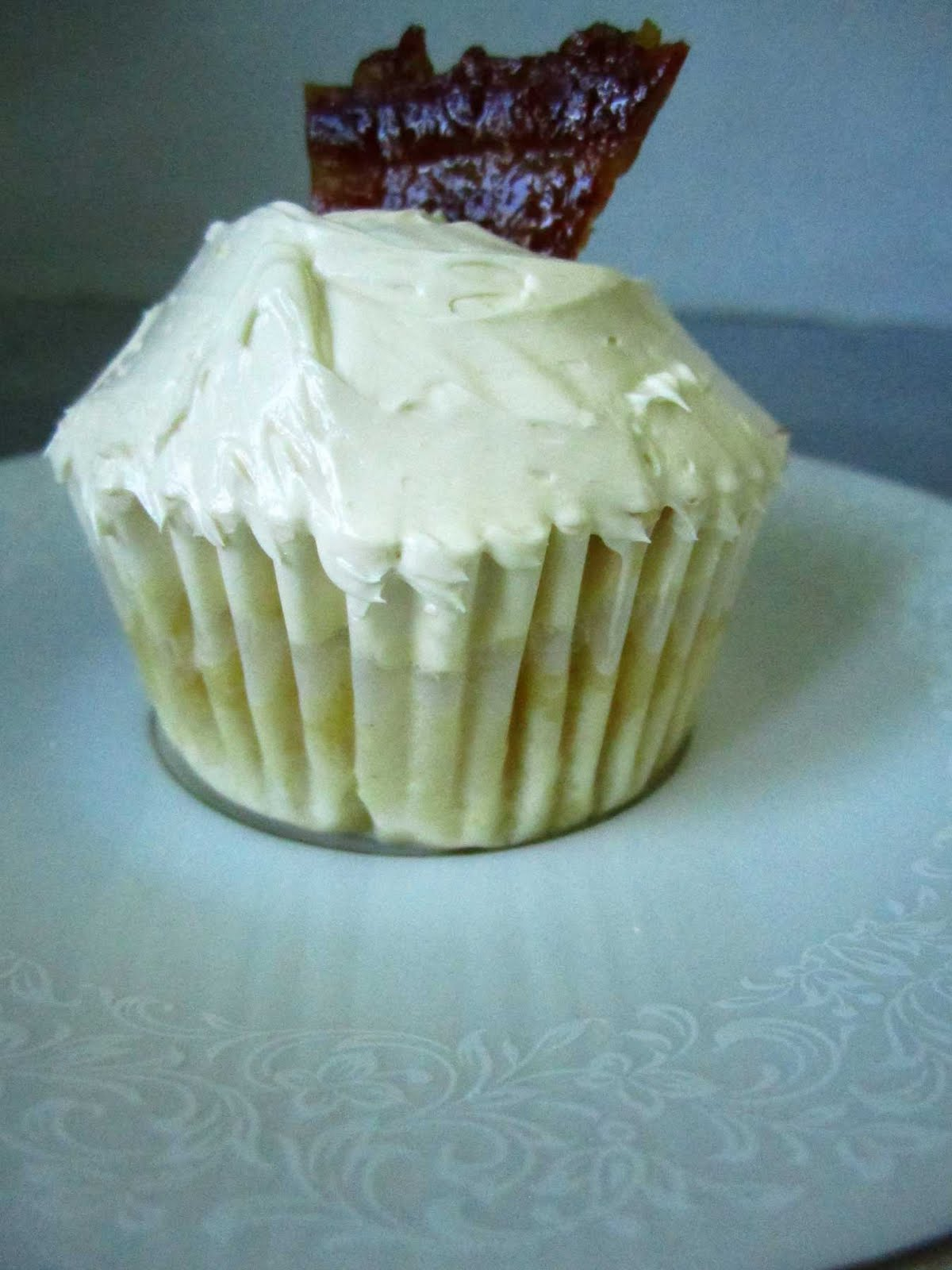 Sweet Corn Cupcake with Maple Buttercream and Candied Bacon | Where ...